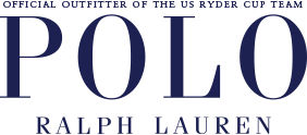 Official Outfitter of the US ryder cup team Polo Ralph Lauren logo